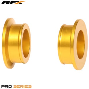 RFX Rfx Pro Wheel Spacers Rear (yellow) Rm125/250 01-08 Wheel Spacer - Yellow