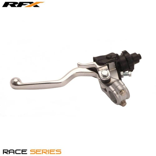 RFX Race Clutch Lever Assembly Honda Crf250 04-09 450 04-08 Clutch Lever Assemblies - Silver