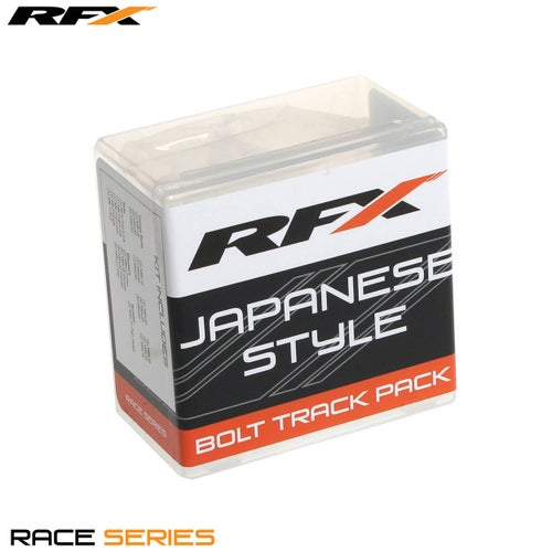 RFX Race Series Track Pack Japenese Style Generic Bolt Pack - Silver