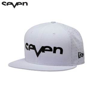 Seven Casual New Era Cap - Brand Punched White/Black