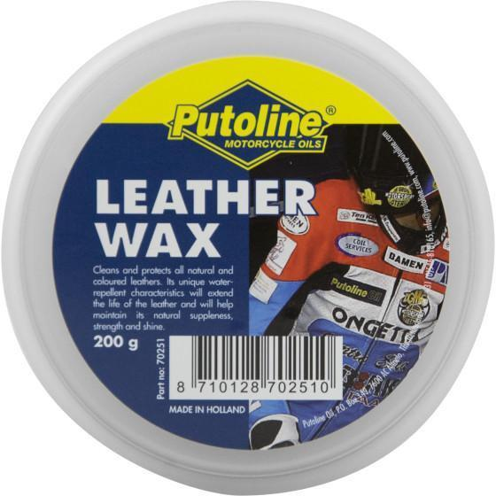 Putoline Leather Wax Cleaning