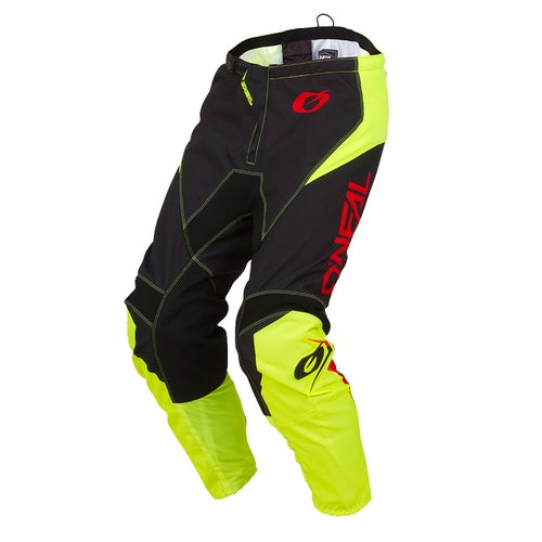 O Neal Element Pants Zen Motocross Pants - Neon Yellow