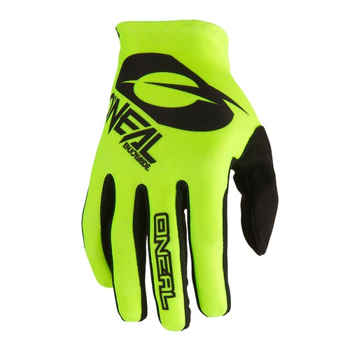O Neal Matrix Glove Zen Motocross Gloves - Neon Yellow