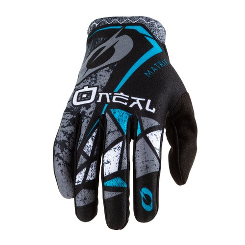 O Neal Matrix Glove Zen Motocross Gloves - Teal