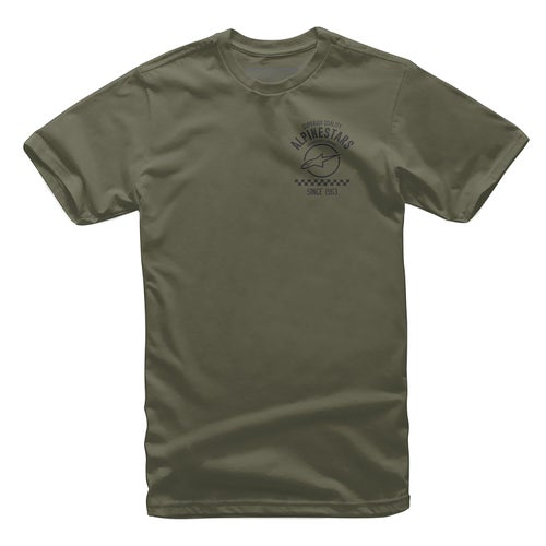 Alpinestars Fazztrack Short Sleeve T-Shirt - Military Green