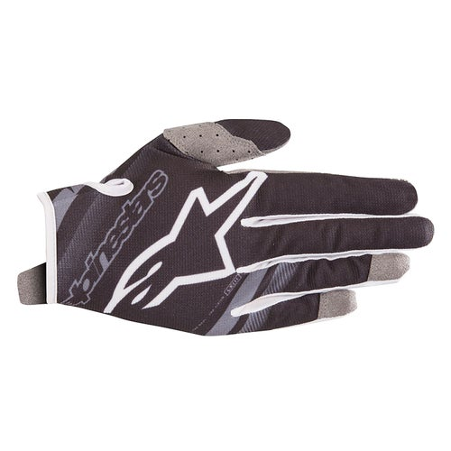Alpinestars Youth Radar Motocross Gloves - Black Mid Gray
