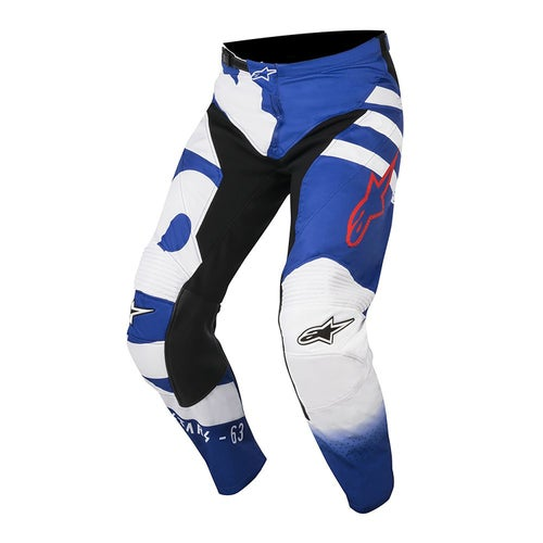 Alpinestars Racer Braap Motocross Pants - Blue White Red