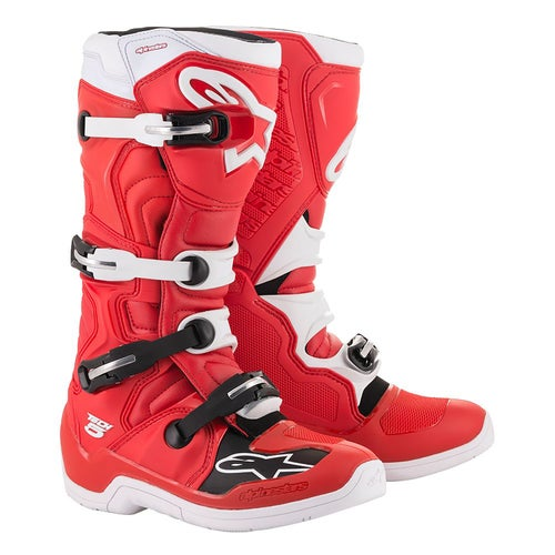 Alpinestars Tech 5 Motocross Boots - Red White