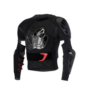 Alpinestars Bionic Tech Jacket Torso Protection - Black White Red