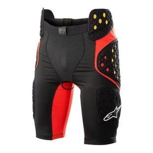 Alpinestars Sequence Pro Protective Shorts - Black Red