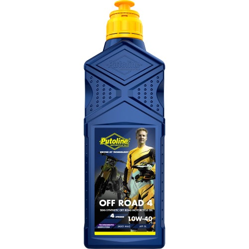 Putoline Off Road 4 10w/40 4 Ltr Engine Oil - Clear