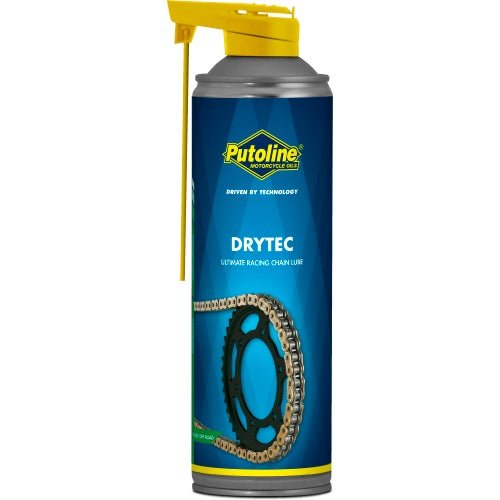 Putoline DryTec Ultimate Racing 500ml Chain Lube & Cleaning - Clear