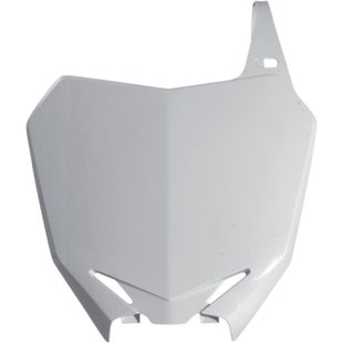 Acerbis Front Number Plate Suzuki RMZ450 0815 Front Number Plate - White
