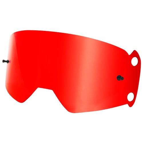 Fox Racing Vue Chrome Spark Motocross Goggle Lense - Red