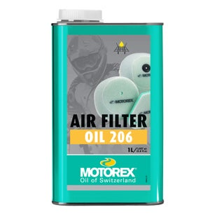 Motorex 206 1 Litre , Air Filter Oil - Clear