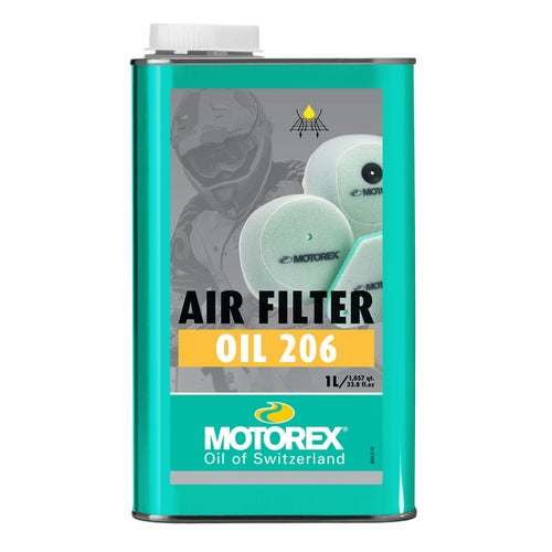 Motorex 206 1 Litre Air Filter Oil - Clear