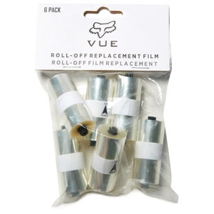 Fox Racing Vue Roll Off Film 6pk Roll Off Film - Clear