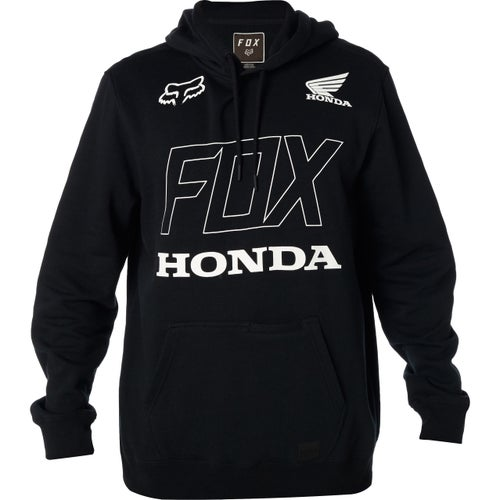 Fox Racing Honda Fleece , Pullover hettegenser - Blk