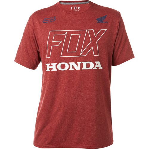 Fox Racing Honda Tech Short Sleeve T-Shirt - Drk Rd
