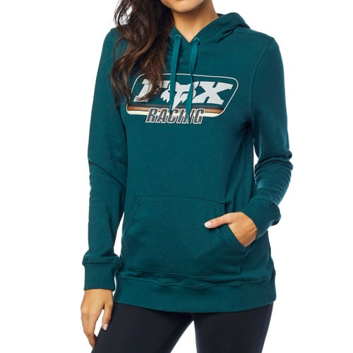Fox Racing Retro Fox Womens Pullover Hoody - Jd