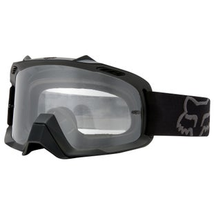 Fox Racing Air Space Enduro Motocross Goggles - Black