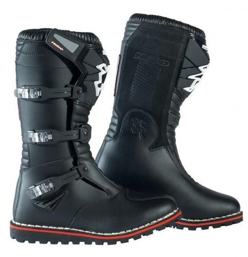 Hebo Eco Evo Trials Boots - Black