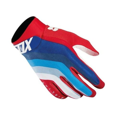 Fox Racing Airline Draftr Motocross Gloves - Red