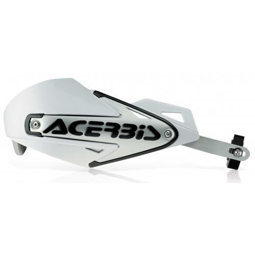 Acerbis Multiplo footE foot s , MX Hand Guard - White