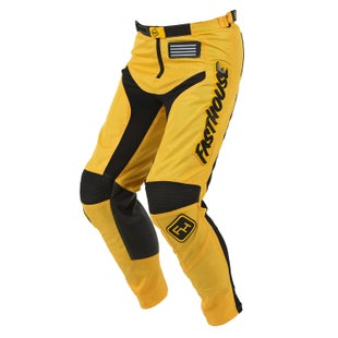 Fasthouse Pant Grindhouse Motocross Pants - Yellow
