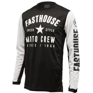 Fasthouse Speed Style L1 AirCooled MX Motocross Jerseys - Black
