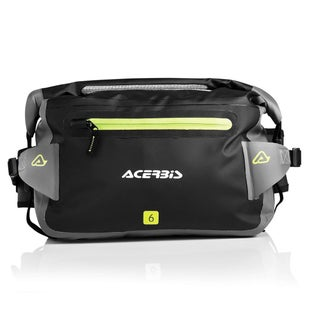 Acerbis Motocross No Water Wasit Pack 6 Litre Tool Pack - Black Grey