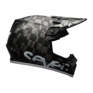 Seven 9 MIPS Checkmate Black MX Helm - Checkmate Black