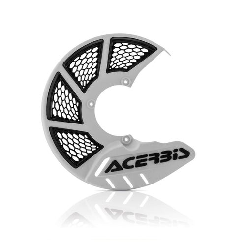Acerbis X Brake Vented Front Disc Protector , Brake Disc Guard - White