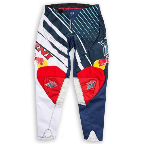Kini Red Bull Vintage MX Motocross Pants - Blue