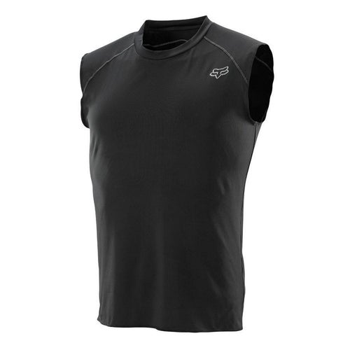 Fox Racing First Layer Sleeveless Motocross Base Layer Top - Black