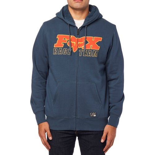 Fox Racing Race Team Sherpa Pullover Hoody - Navy