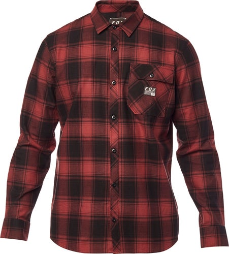 Fox Racing Voyd Flannel , Skjorte - Brx