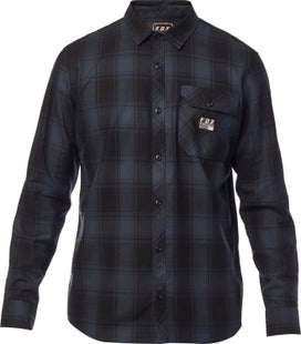 Fox Racing Voyd Flannel Shirt - Nvy