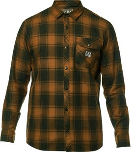 Fox Racing Voyd Flannel Shirt - Tpe