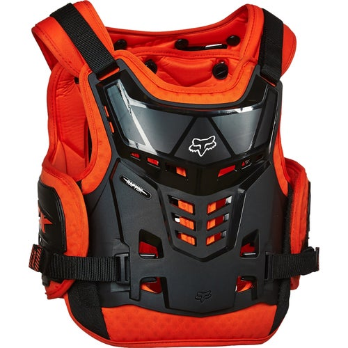 Fox Racing Raptor Proframe LC YOUTH Boys Roost Deflectors - Orange