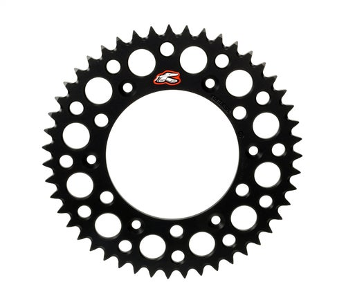 Renthal Sprocket Rear Black 50t Yz/yzf Rear Sprocket - Black
