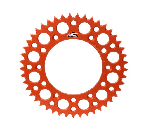 Rear Sprocket Renthal Sprocket Rear Orange 50t Ktm Sx65 - Orange