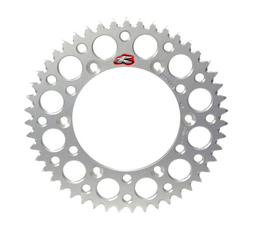 Renthal Sprocket Rear Silver 49t Ktm60/65 Rear Sprocket - Silver