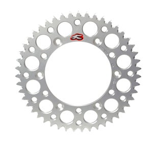 Renthal Sprocket Rear Silver 50t Ktm60/65 Rear Sprocket - Silver