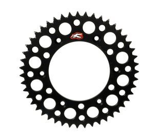 Renthal Sprocket Twinring Black Yz/yzf 50t Rear Sprocket - Black