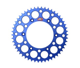 Renthal Sprocket Twinring Blue Yz/yzf 49t Rear Sprocket - Blue