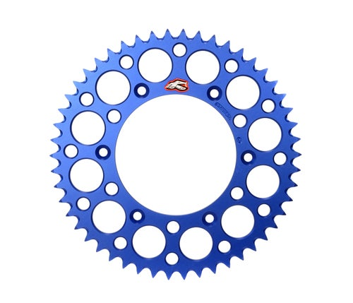 Renthal Sprocket Twinring Blue Yz/yzf 50t Rear Sprocket - Blue