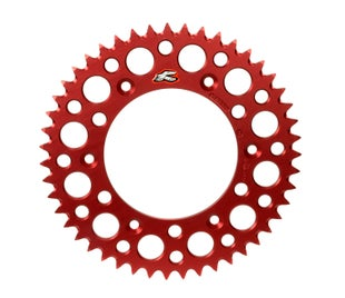 Renthal Sprocket Twinring Red Cr/crf 48t Rear Sprocket - Red