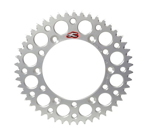 Renthal Sprocket Twinring Silver Cr/crf 49t Rear Sprocket - Silver