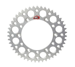 Renthal Sprocket Twinring Silver Cr/crf 50t Rear Sprocket - Silver